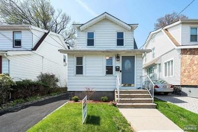 Cliffside Park Single Family Home For Sale: 394 Columbia Avenue