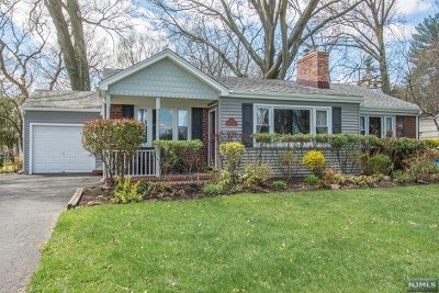 Glen Rock Single Family Home For Sale: 38 Radburn Road