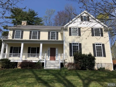 Emerson Single Family Home For Sale: 80 Hasbrouck Avenue
