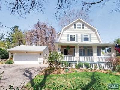 Ho-Ho-Kus Single Family Home For Sale: 419 Hollywood Avenue
