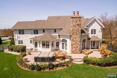 Franklin Lakes Single Family Home For Sale: 100 Knob Hill Court