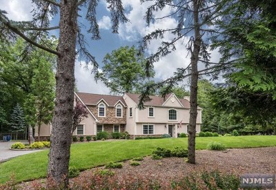 Franklin Lakes Single Family Home For Sale: 545 Reservoir Drive