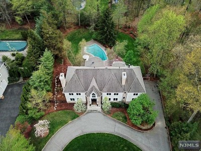 Upper Saddle River Single Family Home For Sale: 40 Hampshire Hill Road