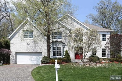 Woodcliff Lake Single Family Home For Sale: 38 Stonewall Court