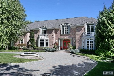 Franklin Lakes Single Family Home For Sale: 520 Hampton Hill Road