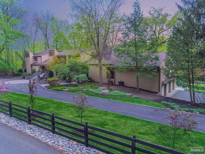 Saddle River Single Family Home For Sale: 37 East Saddle River Road