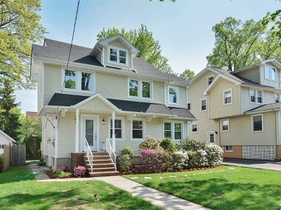 Teaneck Single Family Home For Sale: 271 Van Buren Avenue