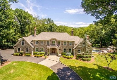 Franklin Lakes Single Family Home For Sale: 231 Indian Trail Drive