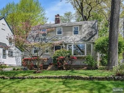 Glen Rock Single Family Home For Sale: 109 Dean Street