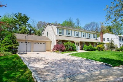 Oradell Single Family Home For Sale: 585 Blauvelt Drive