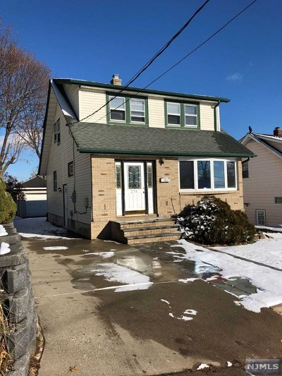 Hackensack Single Family Home For Sale: 274 Marvin Avenue