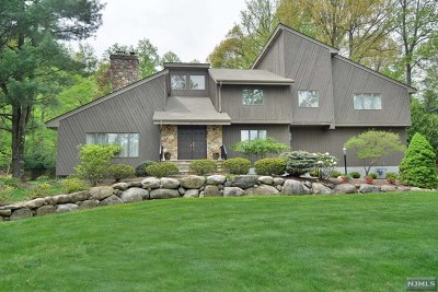 Upper Saddle River Single Family Home For Sale: 3 Danebury Downs