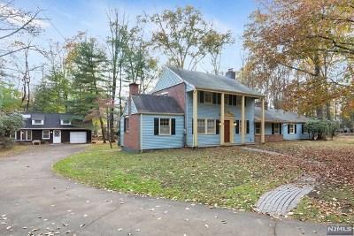 Upper Saddle River Single Family Home For Sale: 44 Locust Lane