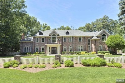 Franklin Lakes Single Family Home For Sale: 316 Indian Trail Drive