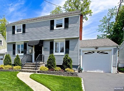 Fair Lawn Single Family Home For Sale: 2-21 33rd Street
