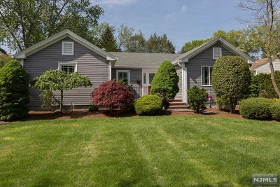 Oradell Single Family Home For Sale: 358 Hasbrouck Boulevard