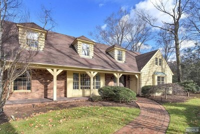 Saddle River Single Family Home For Sale: 25 West Church Road