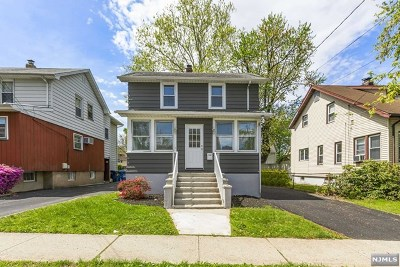Hackensack Single Family Home For Sale: 331 Parker Avenue