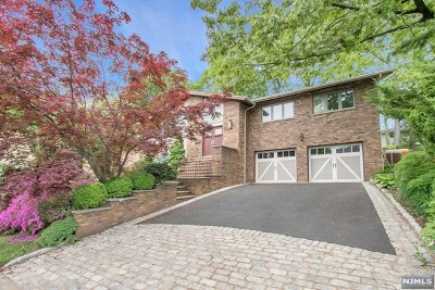Englewood Cliffs Single Family Home For Sale: 34 Snyder Road