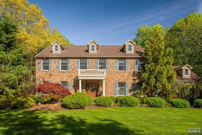 Mahwah Single Family Home For Sale: 169 Airmont Avenue