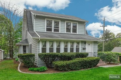 Mahwah Single Family Home For Sale: 266 Franklin Turnpike