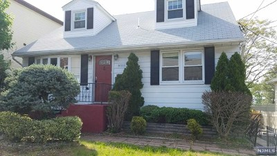 North Bergen Single Family Home For Sale: 8511 Newkirk Avenue