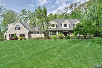 Upper Saddle River Single Family Home For Sale: 3 Deerhorn Trail