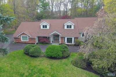 Upper Saddle River Single Family Home For Sale: 31 Possum Trail