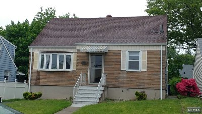 Hackensack Single Family Home For Sale: 181 Hopper Street