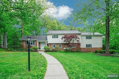 Woodcliff Lake Single Family Home For Sale: 52 Arcadia Road