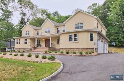 Upper Saddle River Single Family Home For Sale: 15 Tanglewood Hollow Road