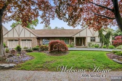 Paramus Single Family Home For Sale: 806 Stella Court