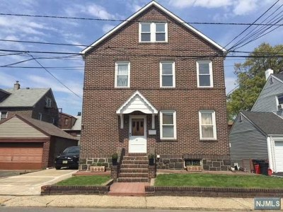 Cliffside Park Multi Family 2-4 For Sale: 787 Harvard Place