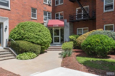 Fort Lee Condo/Townhouse For Sale: 2330 Linwood Avenue #1a