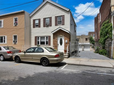 West New York Single Family Home For Sale: 5905 Washington Street
