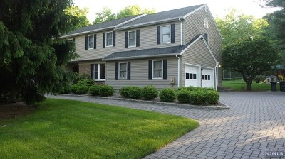 Franklin Lakes Single Family Home For Sale: 610 Vermeulen Place