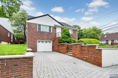 Fort Lee Single Family Home For Sale: 1262 Palisade Avenue