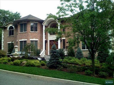 Englewood Cliffs Single Family Home For Sale: 17 Skyline Drive