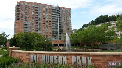 Edgewater Condo/Townhouse For Sale: 901 Hudson Park #901