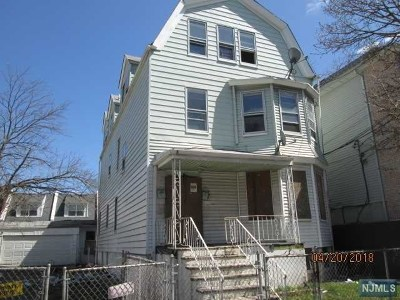 Newark NJ Multi Family 2-4 For Sale: $126,900