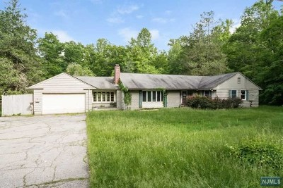 Morris County Single Family Home For Sale: 33 Brookvale Road