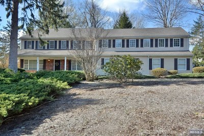 Upper Saddle River Single Family Home For Sale: 5 Ranch Road