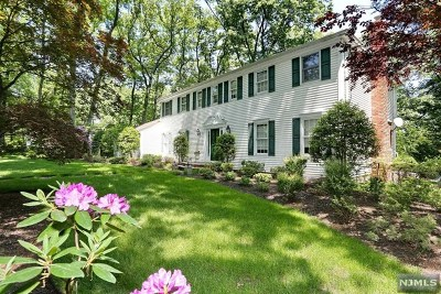 Woodcliff Lake Single Family Home For Sale: 12 Anderson Court
