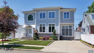 Secaucus Single Family Home For Sale: 827 4th Street