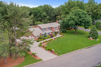 Franklin Lakes Single Family Home For Sale: 204 Oldwoods Road