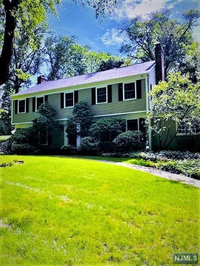 Upper Saddle River Single Family Home For Sale: 26 Deerhorn Trail