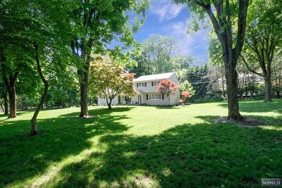 Upper Saddle River Single Family Home For Sale: 7 Hickory Place