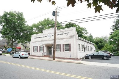 Tenafly Commercial For Sale: 46 West Clinton Avenue