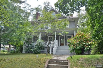 Glen Rock Single Family Home For Sale: 432 Prospect Street