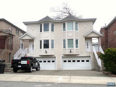 Palisades Park Condo/Townhouse For Sale: 534b 2nd Street #Left Sid